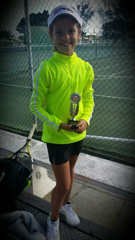 Winner Girls U10 Jessica Greyvensteyn