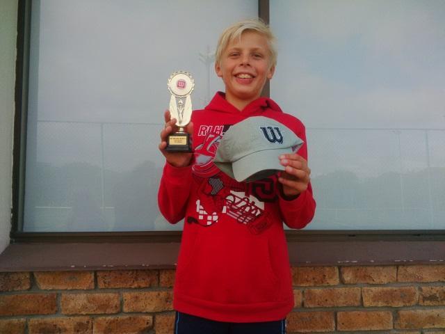 Winner U12 Boys - Jonah Anderson