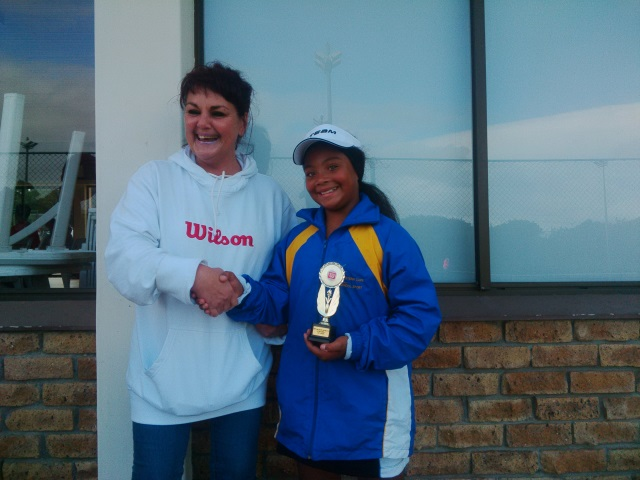 Winner Girls U12 - Jessica Hess