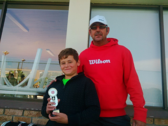 Winner U9 Boys - Hermann Hartung