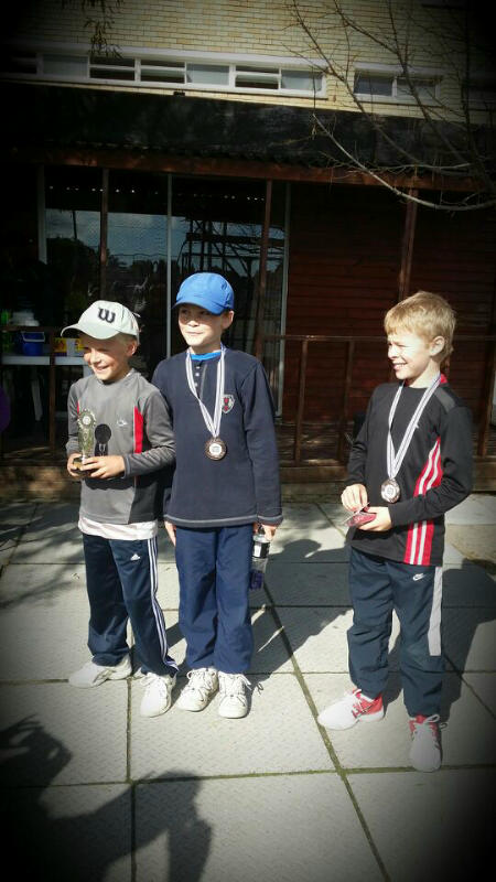 Winners Boys U10 -  Simon,Ruben,Dante