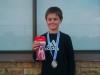 Runner up U12 Boys - Daniel Beukes